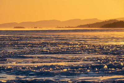 """Grand Marais Ice Floes"""