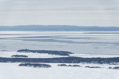 """Pack Ice between Susie Islands and Isle Royale"""