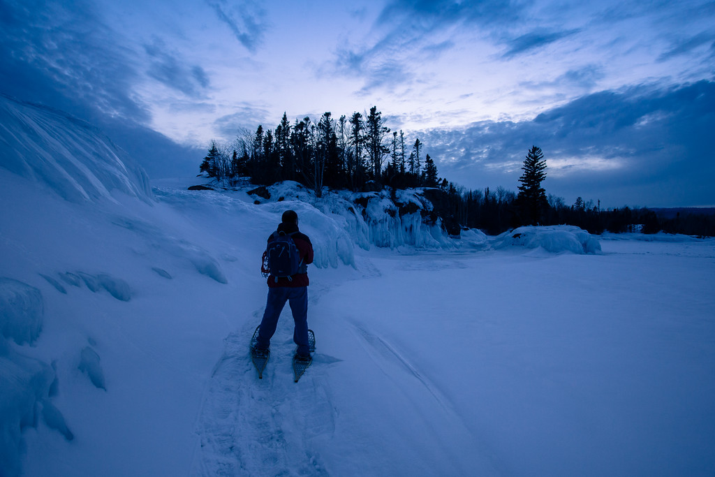 "SUPERIOR WINTER 2693<br /> <br /> ""Blue Hour Contemplation"""