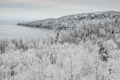 """Fresh Snow Morning"""