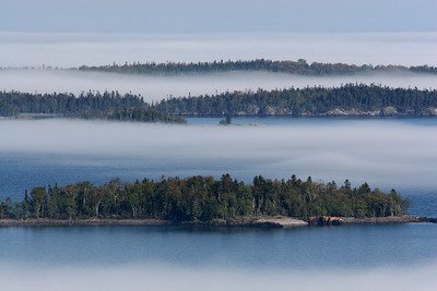 "SUSIE ISLANDS 4448  ""Summer fog in the Susies"""