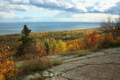 Lake Superior Fall View