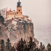 Split Rock Snowstorm