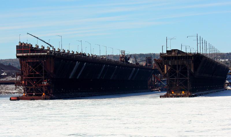 Agate Bay Oar Docks