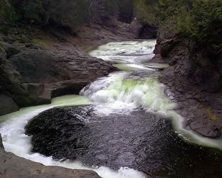 """Wilderness Pool"" by Brandon, 16     Lake Superior"