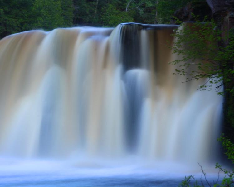 """Bond Falls"" by Kyle, 16  |  Michigan's Upper Peninsula"
