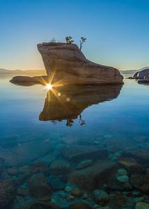 Bonsai Rock Sunset 1