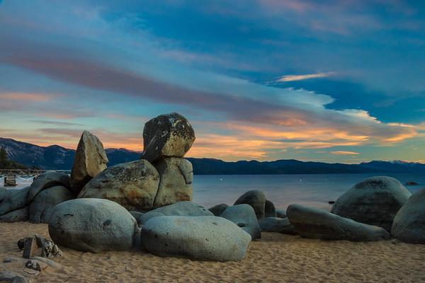 Speedboat Beach Sunset
