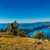 Blue, Green, Yellow - Marlette Lake