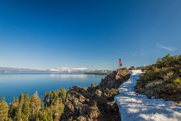 Eagle Rock view of Lake Tahoe