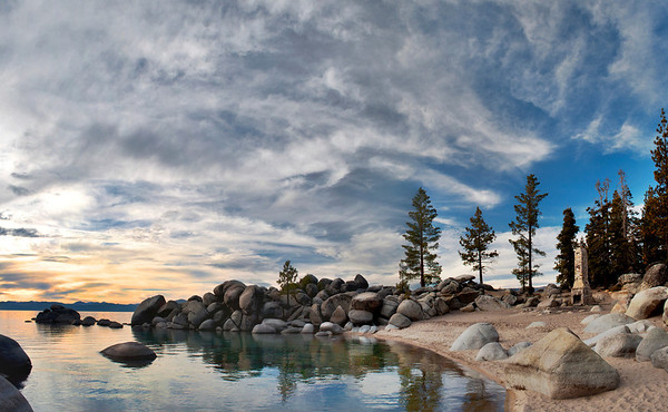 Chimney Beach, Lake Tahoe