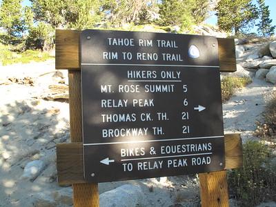 Rose Peak Hike 2014