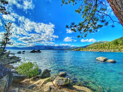 Sand Harbor Lake Tahoe, Nevada