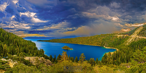 """Tempest,"" Emerald Bay Squall Line, Emerald Bay, Lake Tahoe, California"