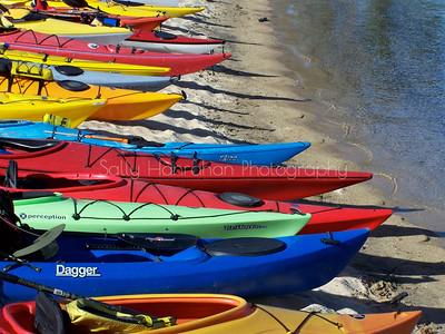 Kayaking Tahoe