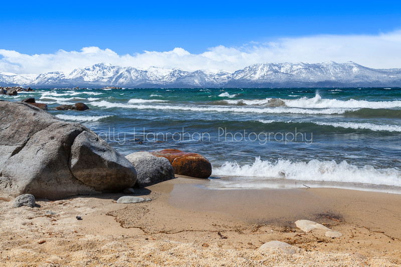 Cave Rock Beach - Lake Tahoe Nevada