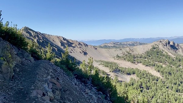 A walk along the Relay Peak trail