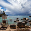 No Lifeguard on Duty ~ Sand Harbor Lake Tahoe Nevada