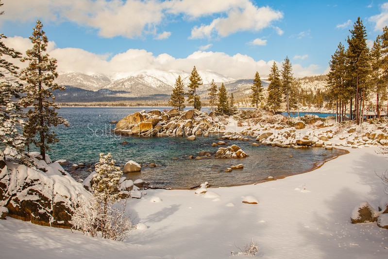 Sand Harbor Winter~Lake Tahoe Nevada