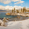Sand Harbor Winter~Lake Tahoe Nevada