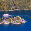 M.S. Dixie ll and Fannett Island- Emerald Bay, Lake Tahoe