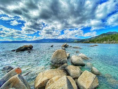 Sand Harbor Lake Tahoe, Nevada