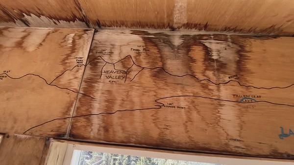 Inside the Martis Peak Fire Lookout