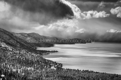 Winter Storm over Lake Tahoe