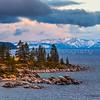 Sand Harbor Sunset-Lake Tahoe Nevada