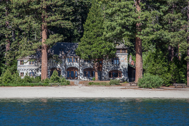 Historic Vikingsholm Castle - Emerald Bay, Lake Tahoe, California