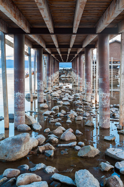 Lake Tahoe Drought-Tahoe City,California