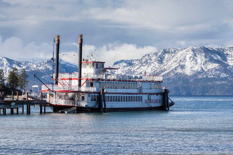 M.S. Dixie ll in Port at Zephyr Cove - Lake Tahoe, Nevada