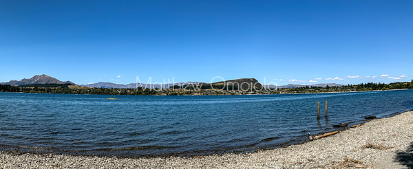 Panorama lake Wanaka, Wanaka Otago South Island New Zealand