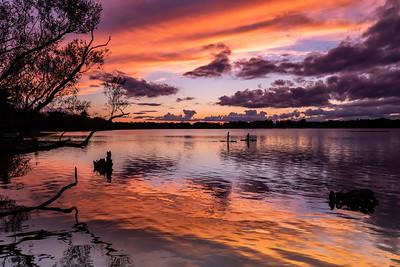 Lake Wilcox Sunset
