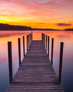 Winter Harbor Sunrise