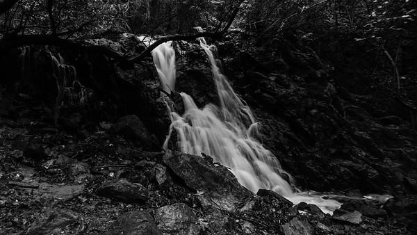 lake anza waterfalls