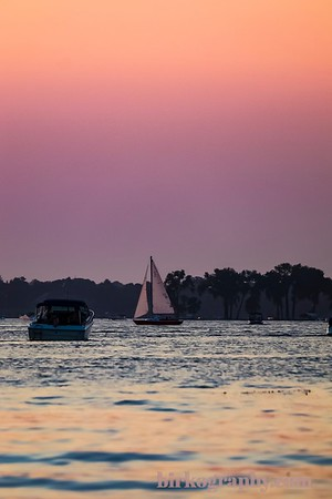 Summer on the lake.  Excelsior Bay, Lake Minnetonka, MN