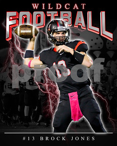 13 Brock Jones LHHS FB Poster