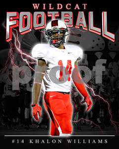 14 Khalon Williams LHHS FB Poster