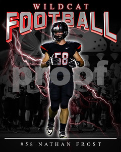 58 Nathan Frost LHHS FB Poster