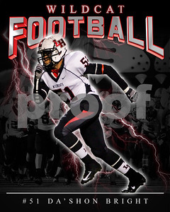 51 DaShon Bright LHHS FB Poster