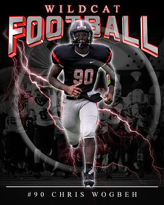 90 Chris Wogbeh LHHS FB Poster