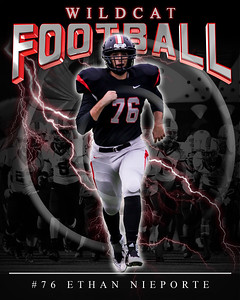 76 Ethan Nieporte LHHS FB Poster