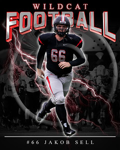 66 Jakob Sell LHHS FB Poster