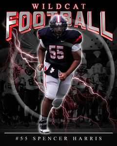 55 Spencer Harris LHHS FB Poster