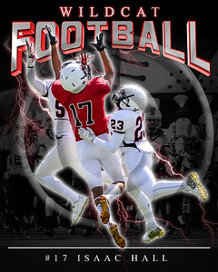 17 Isaac Hall LHHS FB Poster