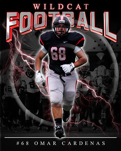 68 Omar Cardenas LHHS FB Poster