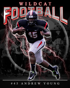 45 Andrew Young LHHS FB Poster