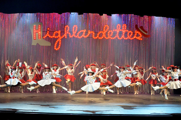 2012: Highlandette Revue - Opening Night - April 20