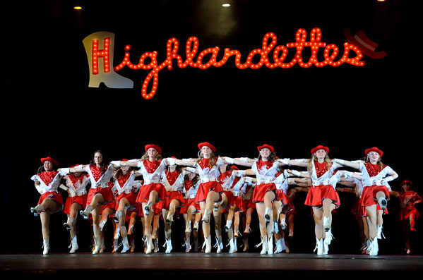 2013: Highlandette Revue - Parent Preview - April 18